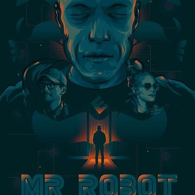 Sorin ilie mr robot poster