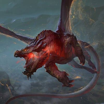 Rudy siswanto flamepast dragon artstation