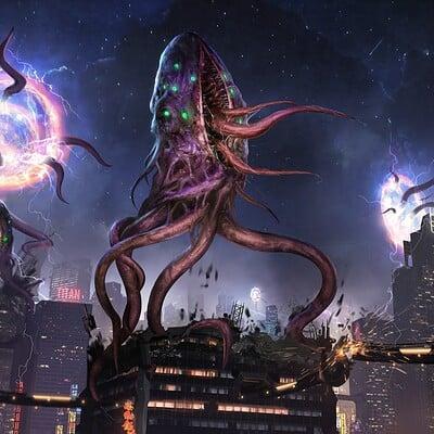 Eryk szczygiel tentacle monster