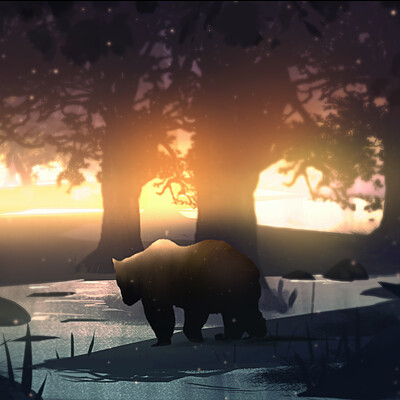 Taha yeasin day 127 the lone bear