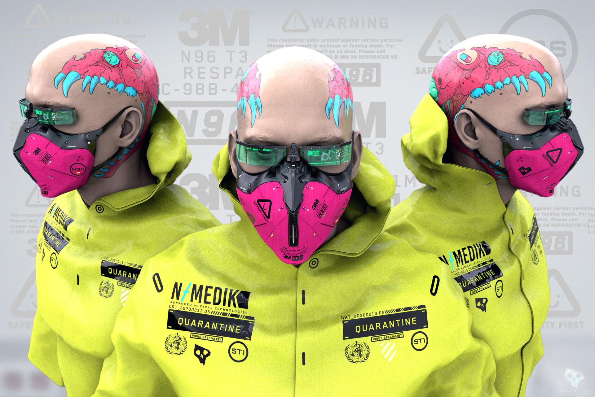 Hardcore Heisenberg. Gotta have matching head tat with the respirator.