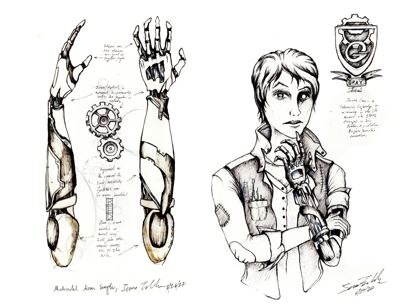 Cyborg Mechanic Concept