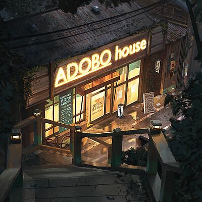 Alben tan adobo house png 1500px