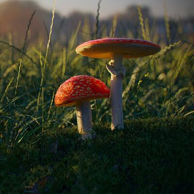 Vigneshwaran r red mushroom