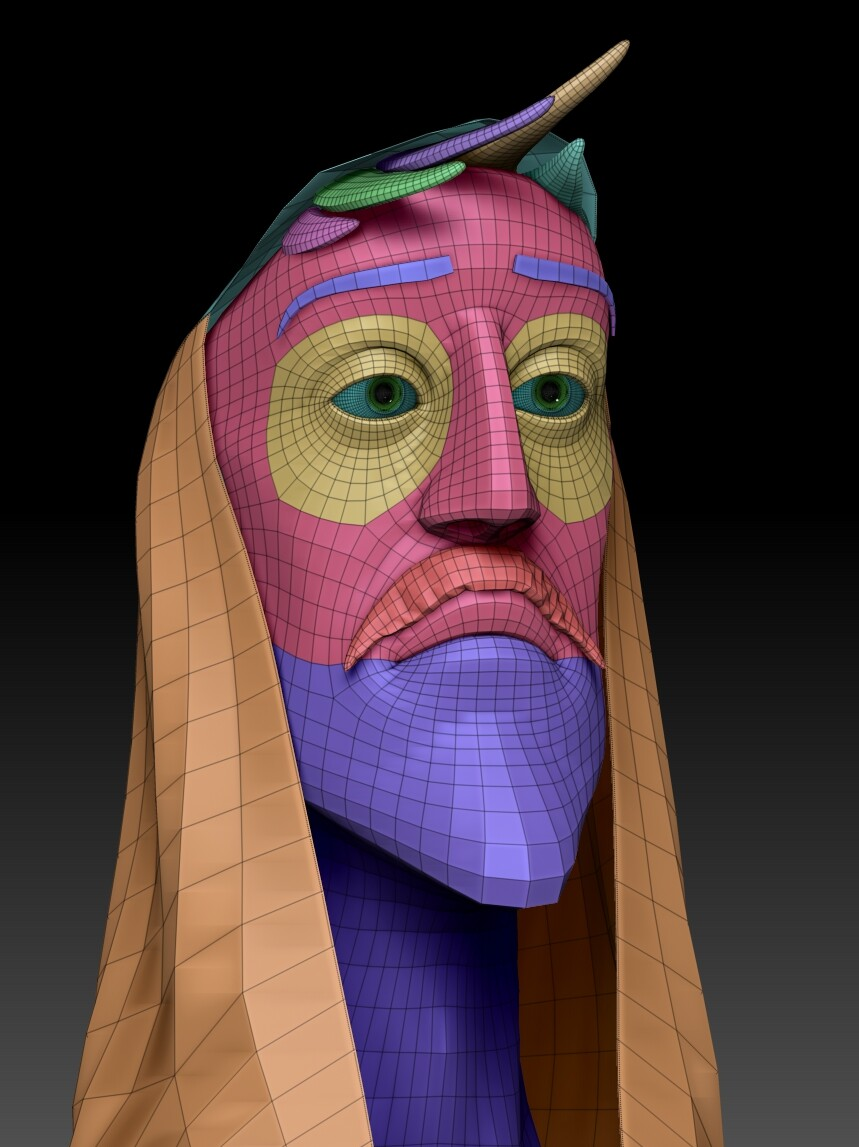 zbrush head wires