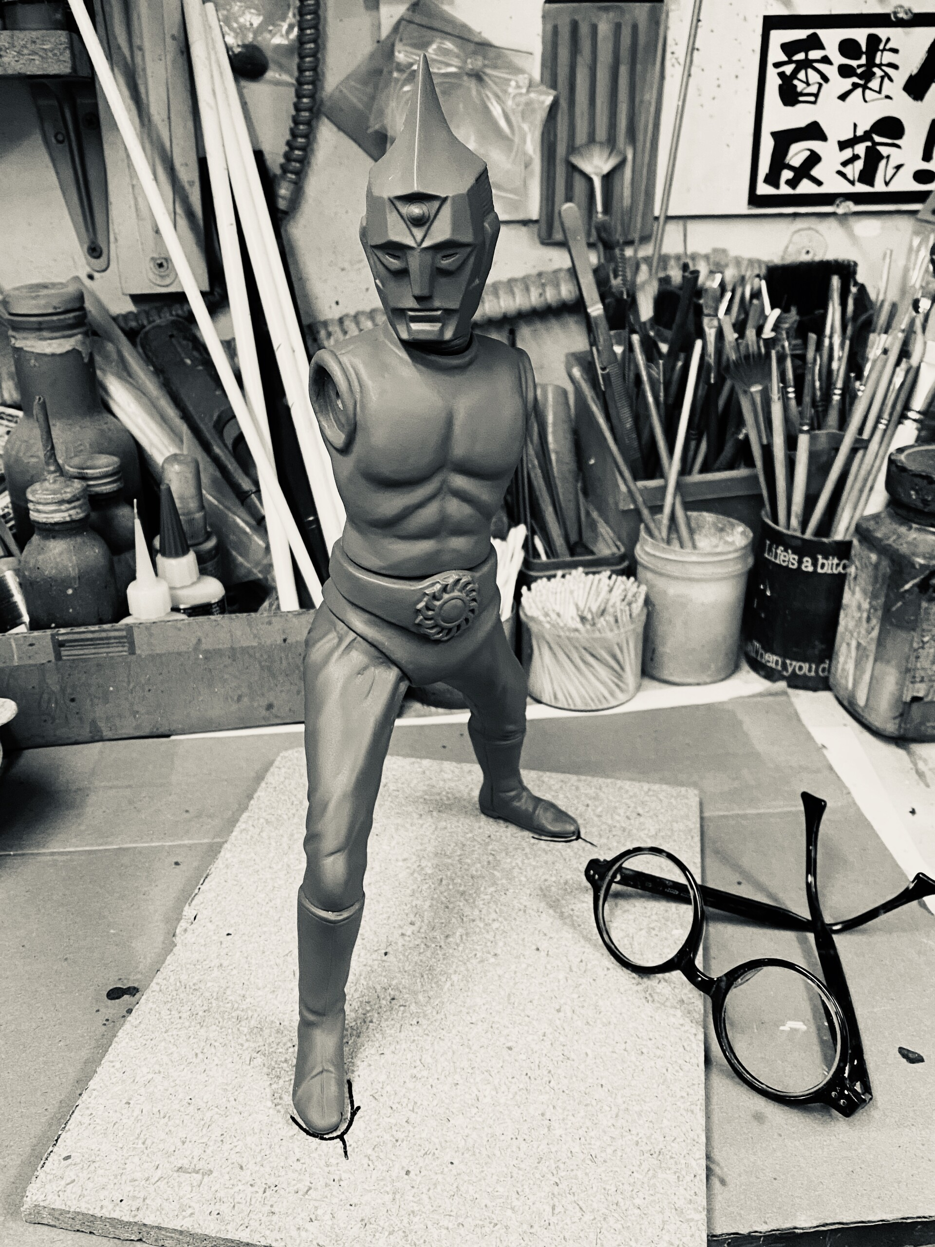 原型制作Robin Kwok: スペクトルマン 30 cm