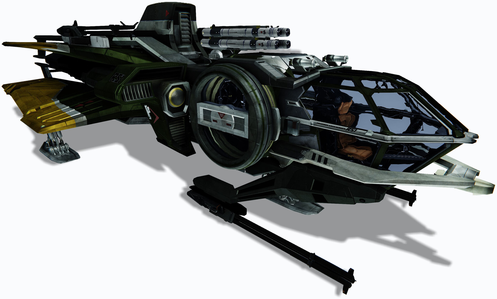 Reference Images for the in-game model from Star Citizen