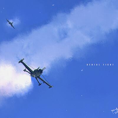 Benedick bana aerial fight lores