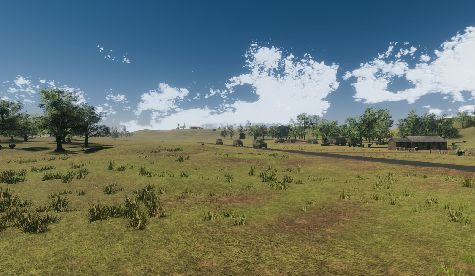 Hilly Environment