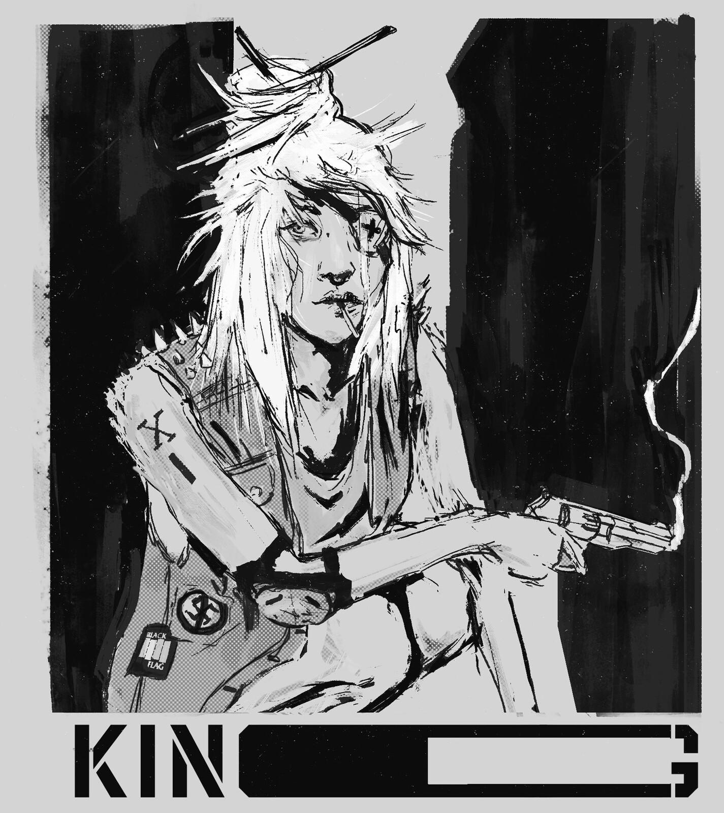 KING - Art Habit 04