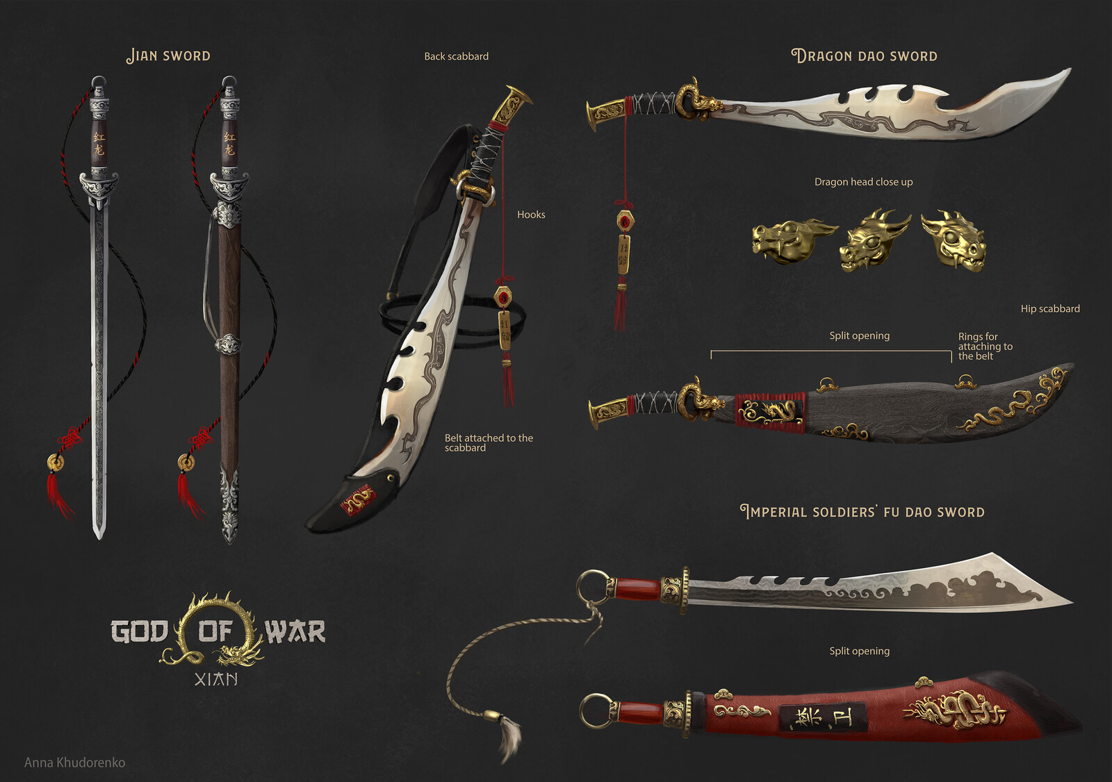 GoW China: Swords