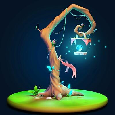 Irem erbilir magic lamp1