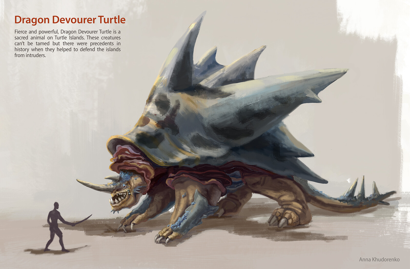Game boss: Dragon Devourer Turtle