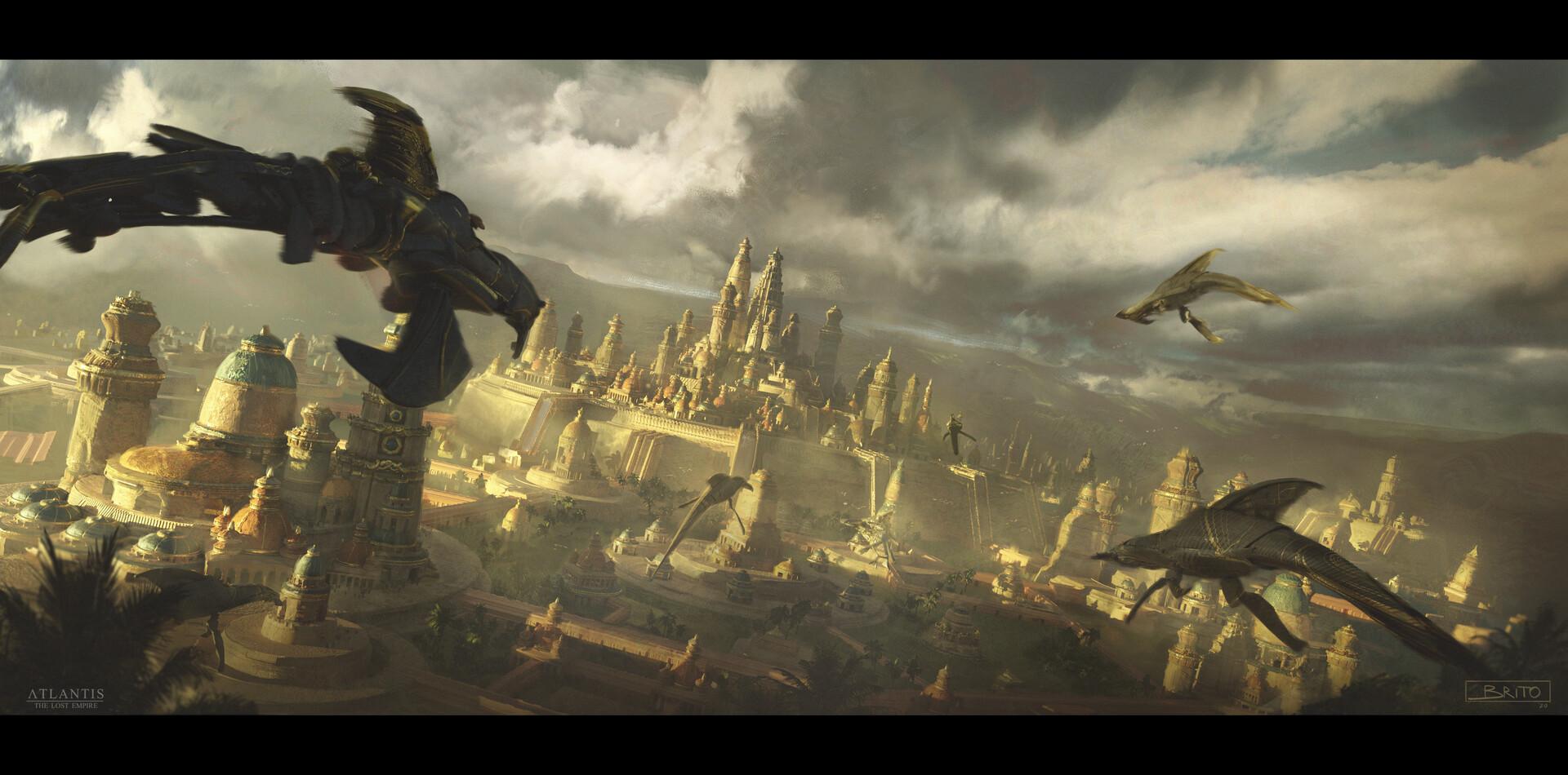 Atlantide, l'Empire Perdu [Walt Disney - 2001] - Page 8 Eduardo-brito-opening-shot-render