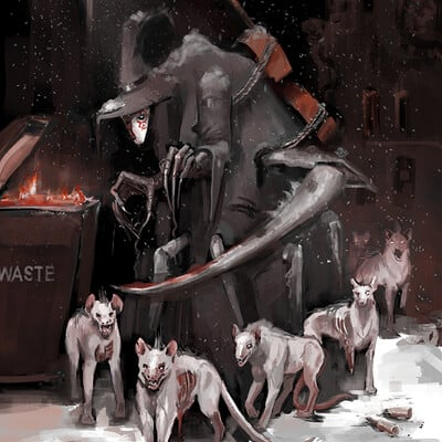 Anna khudorenko garbage monster anna khudorenko