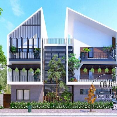 Neohouse architecture biet thu hien dai dep 1