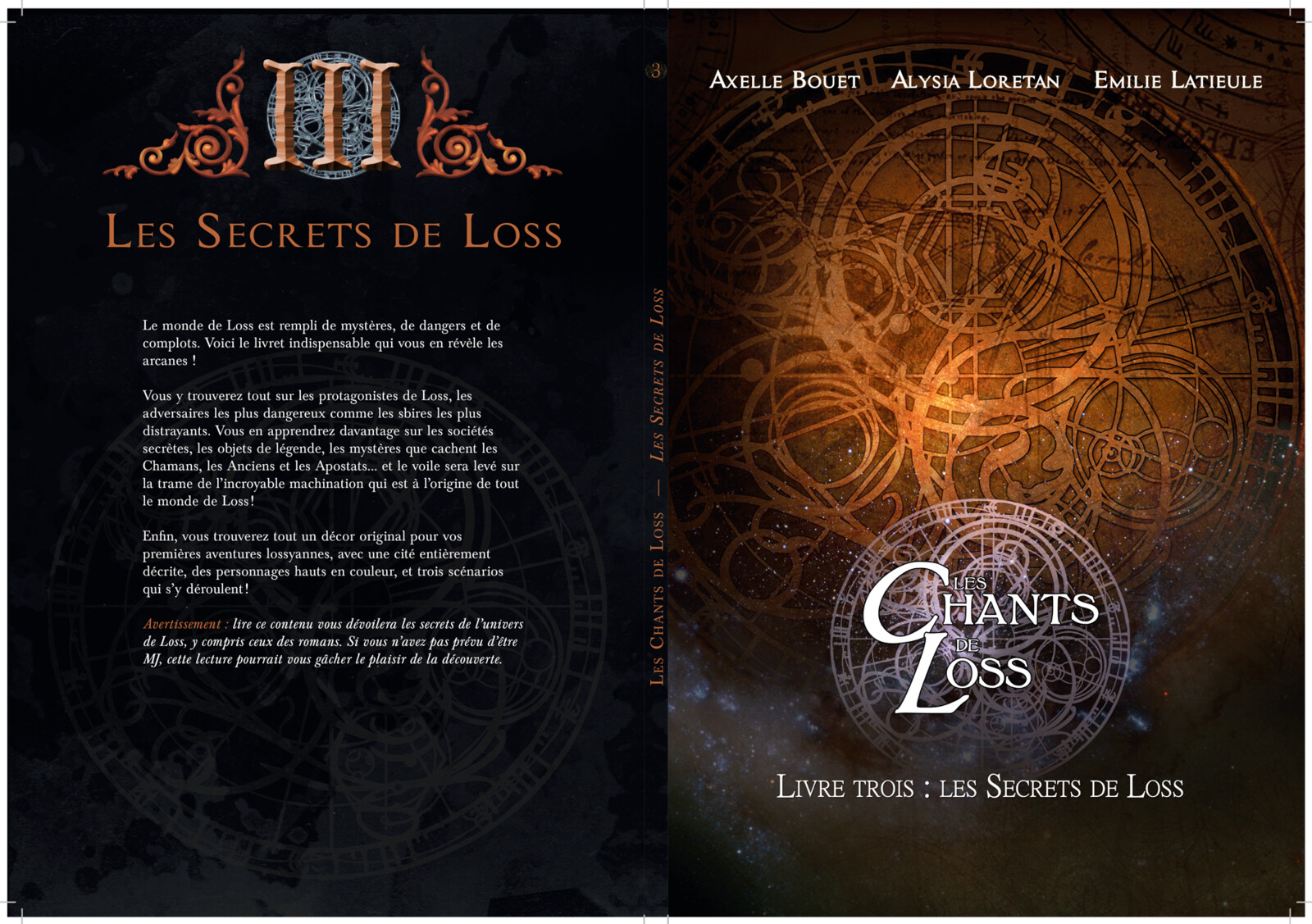 Songs of Loss, book 3 cover
