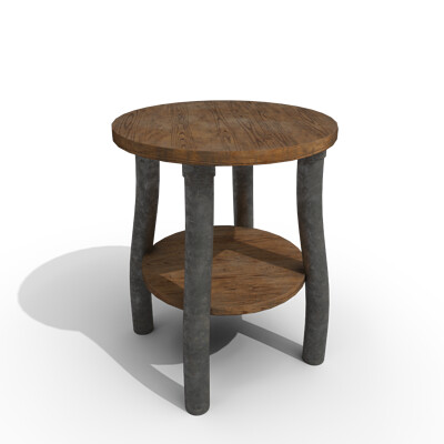 Joseph moniz stool003d