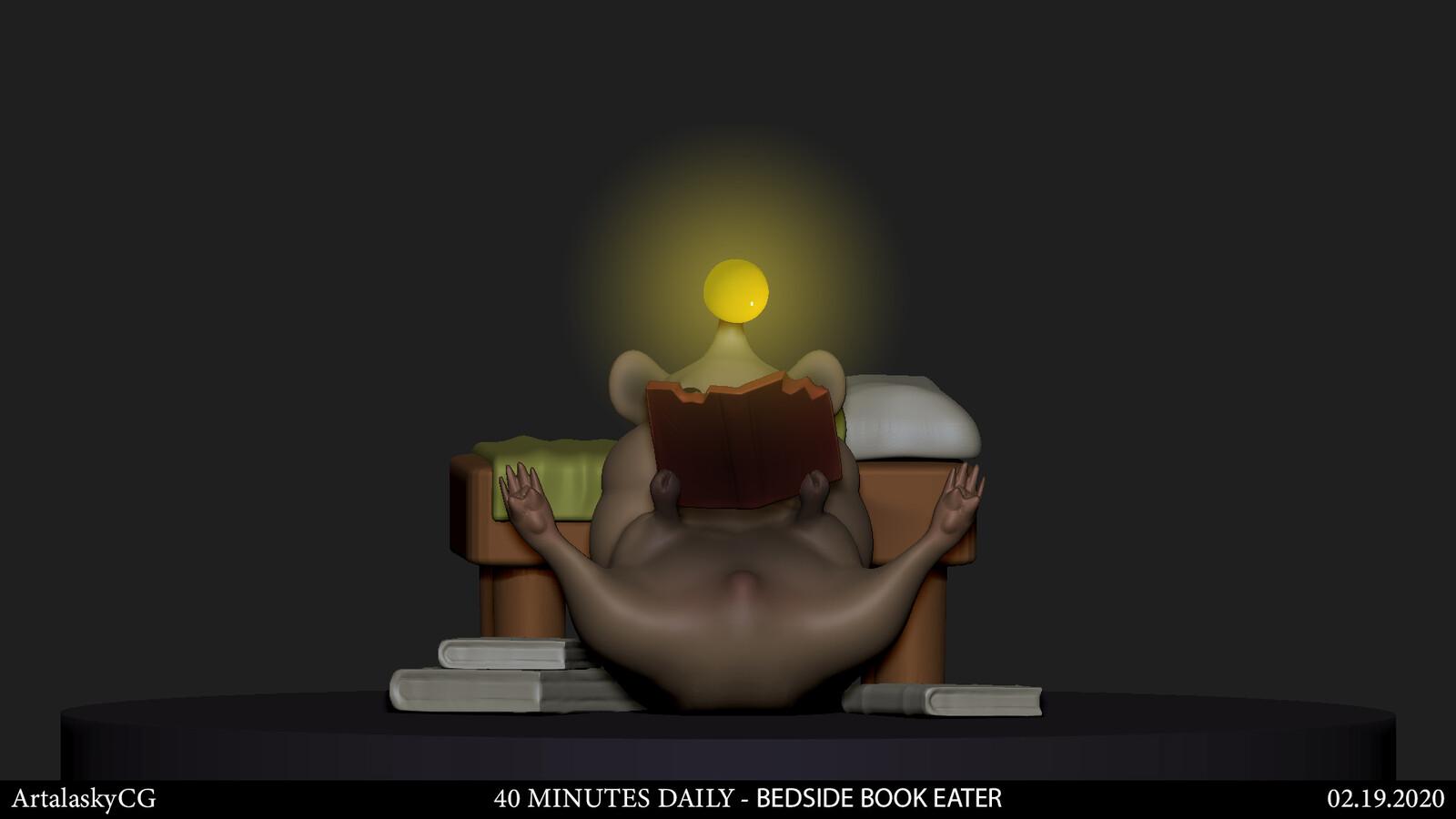 Bedside Books Eater (1st version)