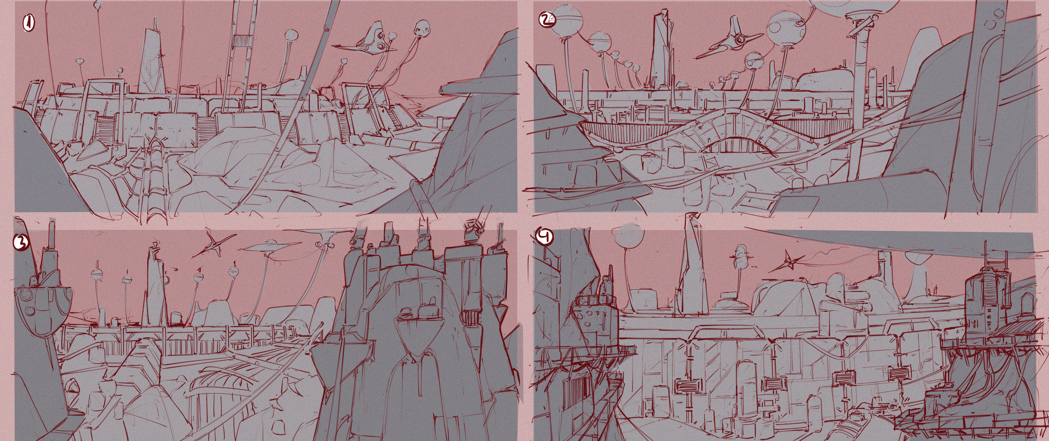 Thumbnails - to find te correct composition