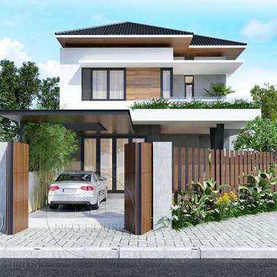 Neohouse architecture m u thiet ke biet thu mai thai 2