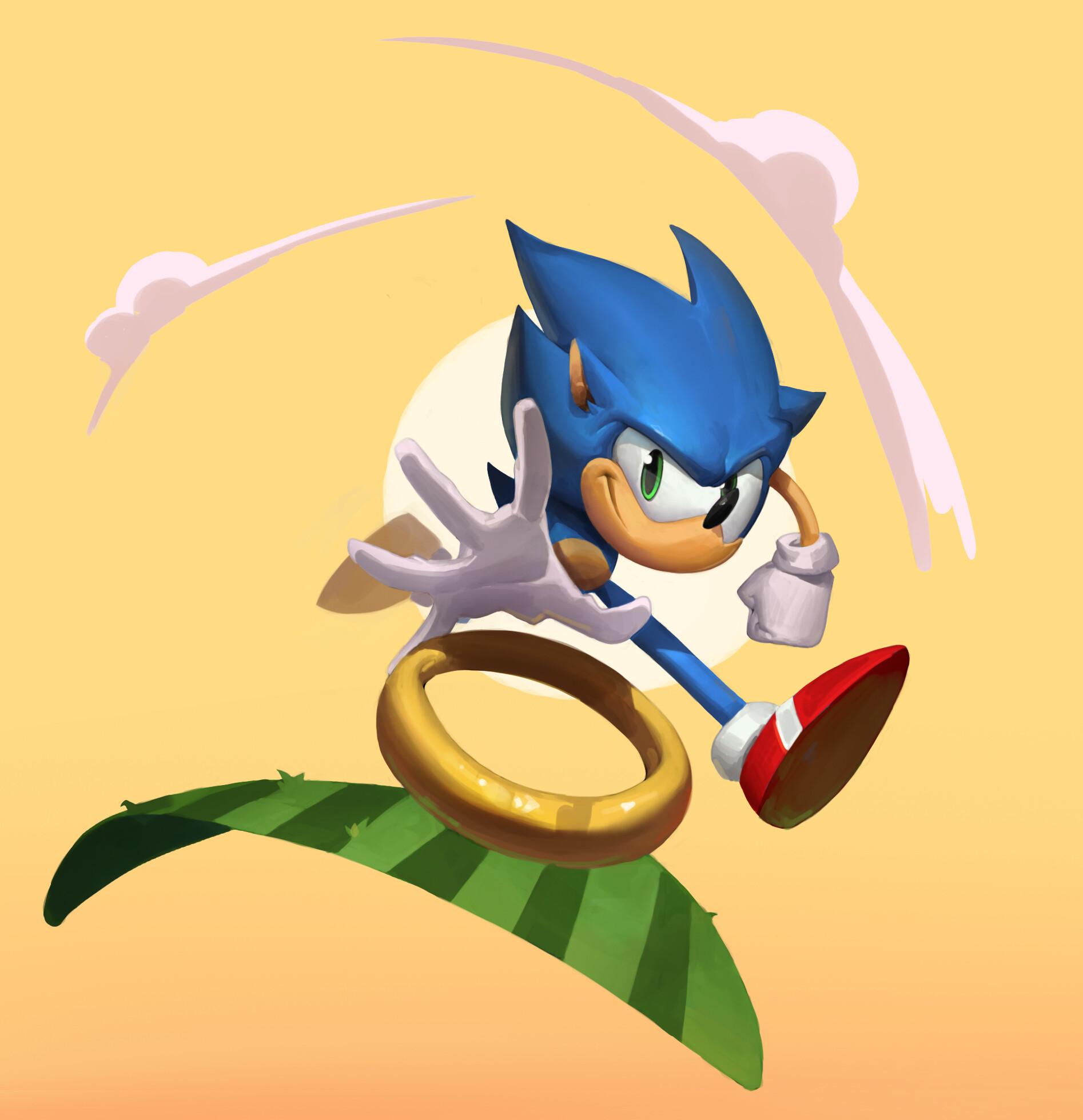 Artstation Sonic The Hedgehog Labros Panousis