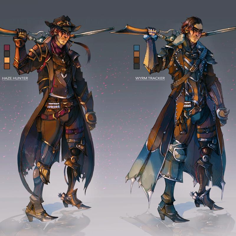 Wild West Fantasy Gunslinger - Costume Variations