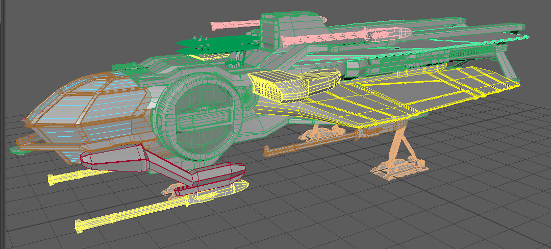 Aurora Wireframe view.
