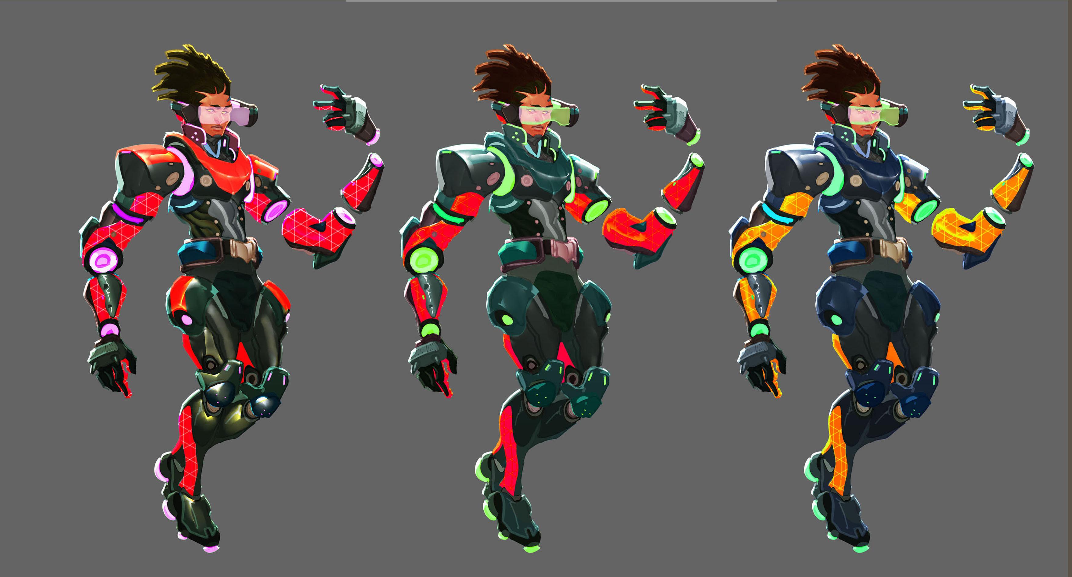 New character concept Lucas Yoshinari