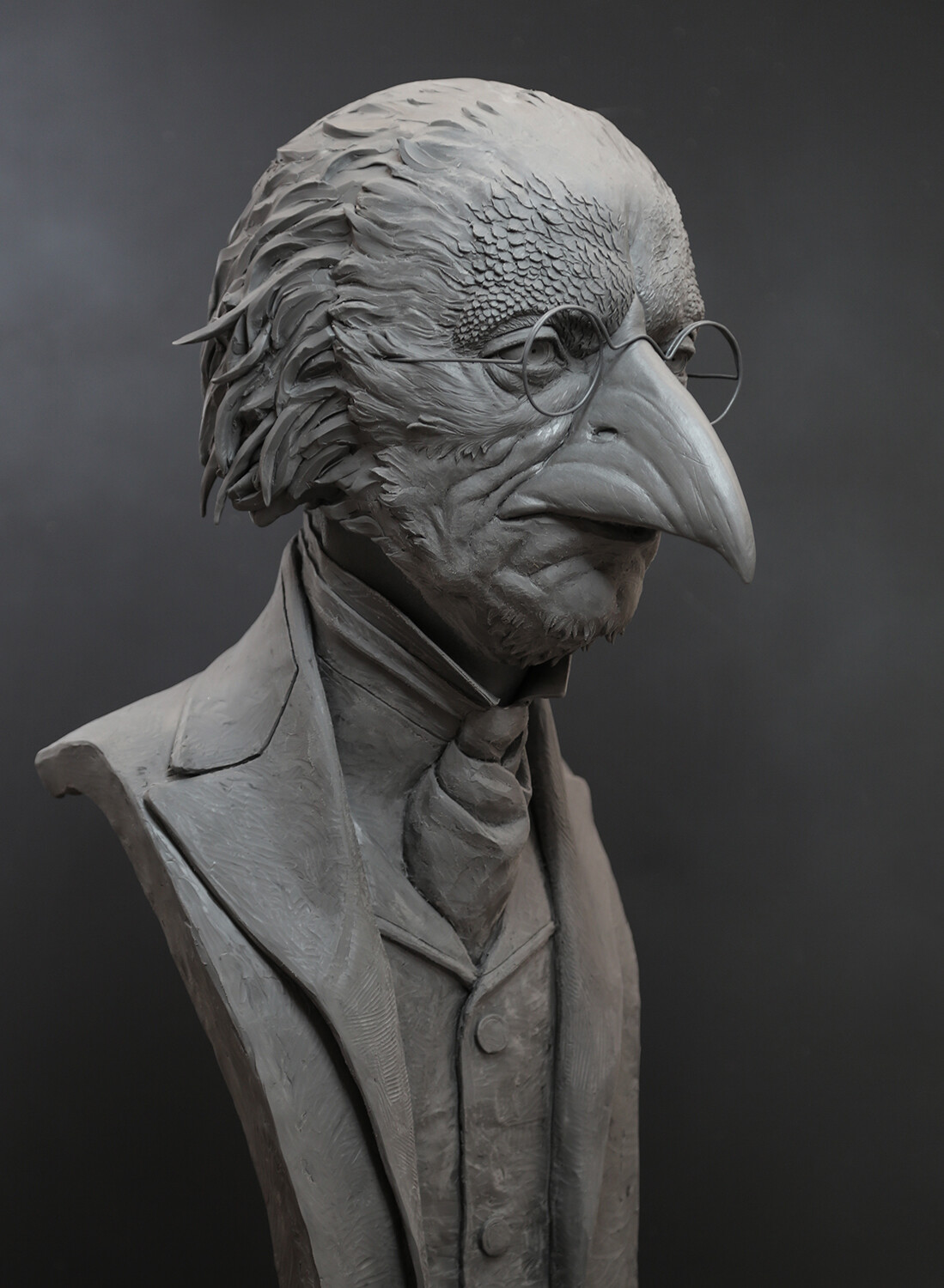 Pinocchio 2018 / Doctor Crow Concept Bust