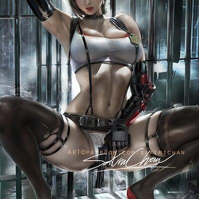 Sakimi chan ada wong tifaoutfit 01