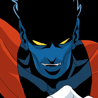 Afromation art nightcrawler