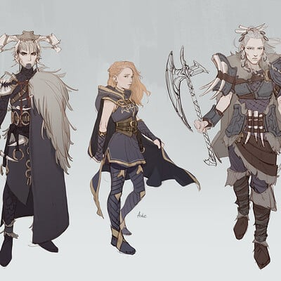 Nina vakueva concepts for ashe
