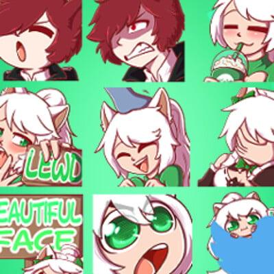 Kazuki_n_Chatter Emotes