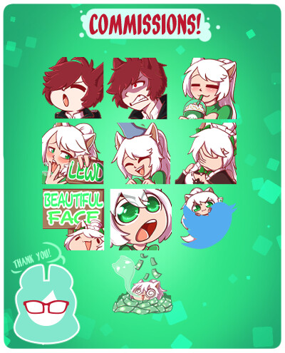 Emote Commissions