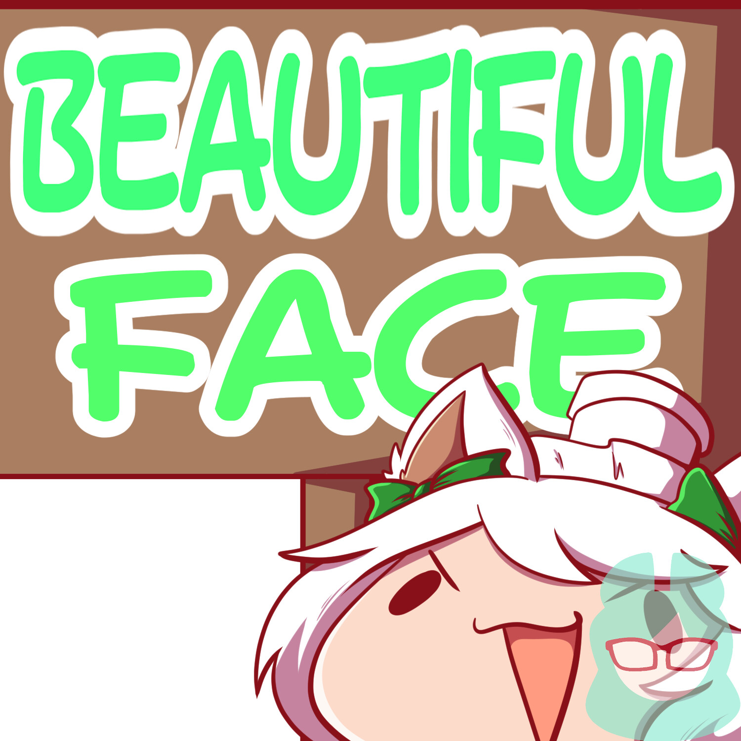 Beautiful Face Sign