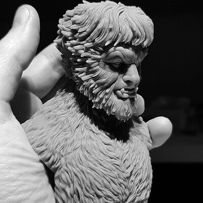 1/6 Scale -WOLFMAN-