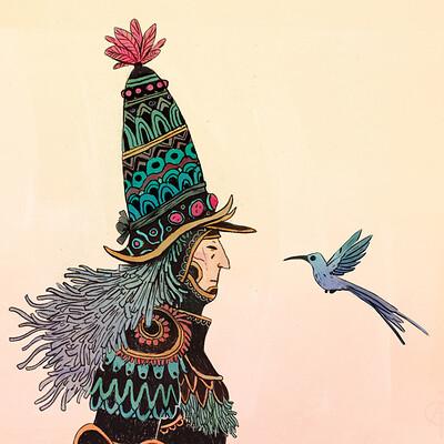 Corentin asproni le chevalier et l oiseau