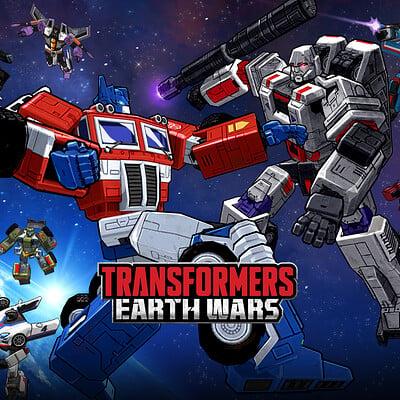 Space ape games transformers loadingscreen
