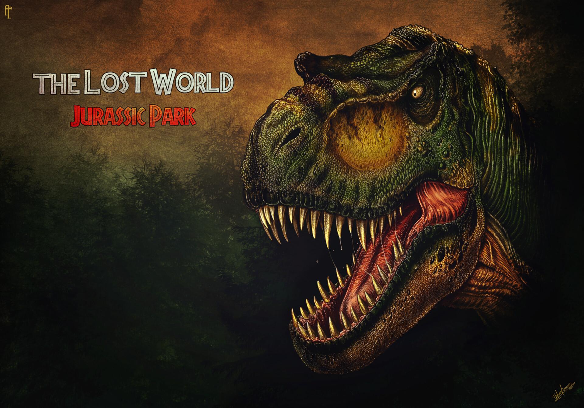 Artstation The Lost World Jurassic Park 1997 Digital Poster Aram Papazyan