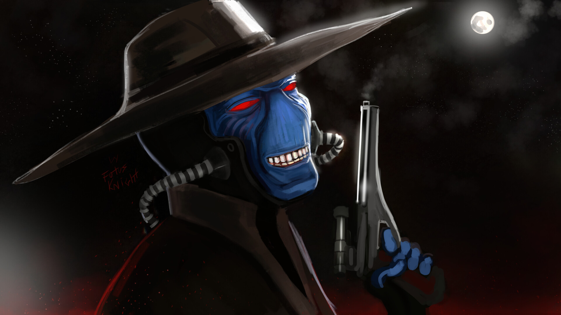 Artstation Cad Bane At Your Service Fotus Knight