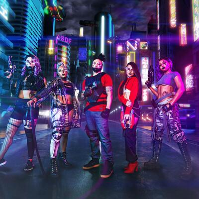 Daniel grove cyberpunk composite