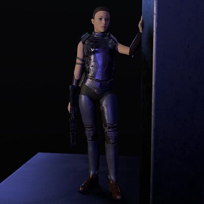 Slayver slayverson scifi soldier2