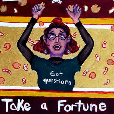 Chelsea burcksen fortune cookies