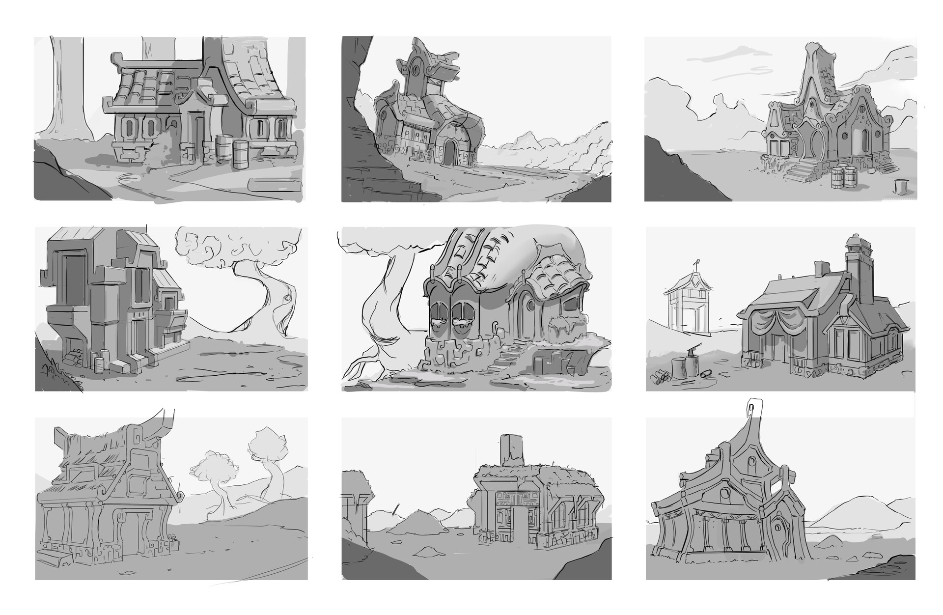 Some embarrassingly quick and dirty thumbnails.