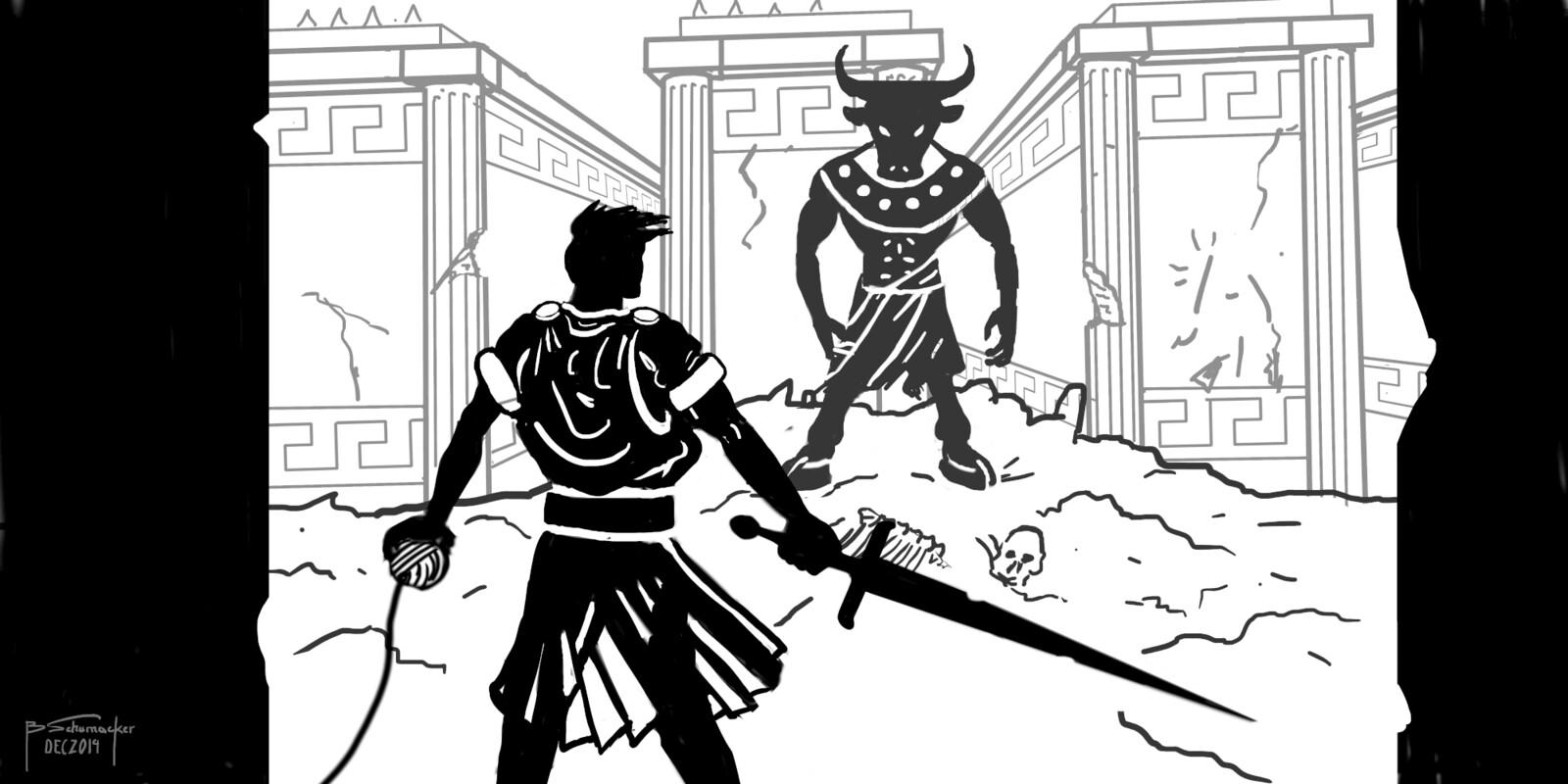 Theseus and Minotaur - draft
