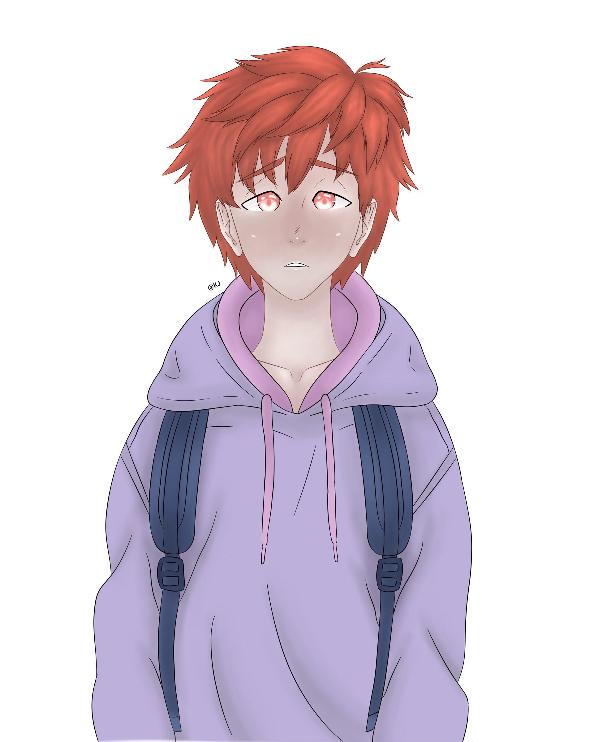 Artstation Cute Anime Boy Kai Lorben