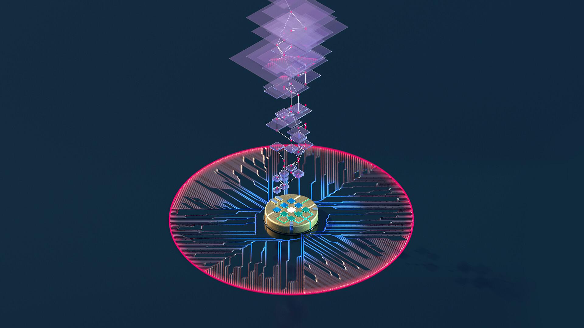 AI-chip burst