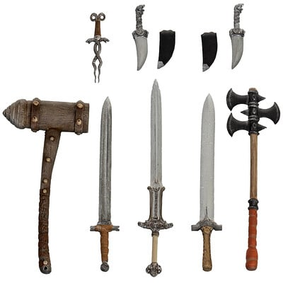 Ben misenar conan weapons