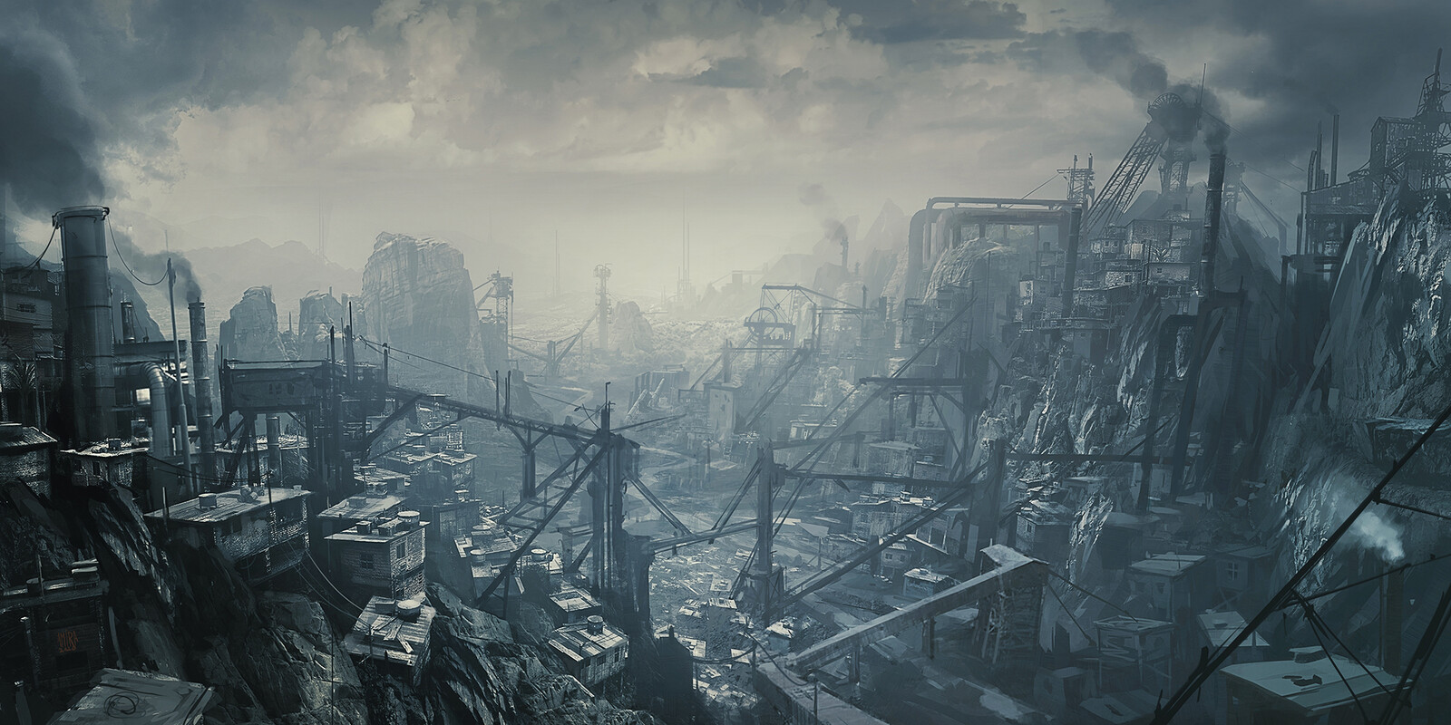 Post-Apocalyptic slums